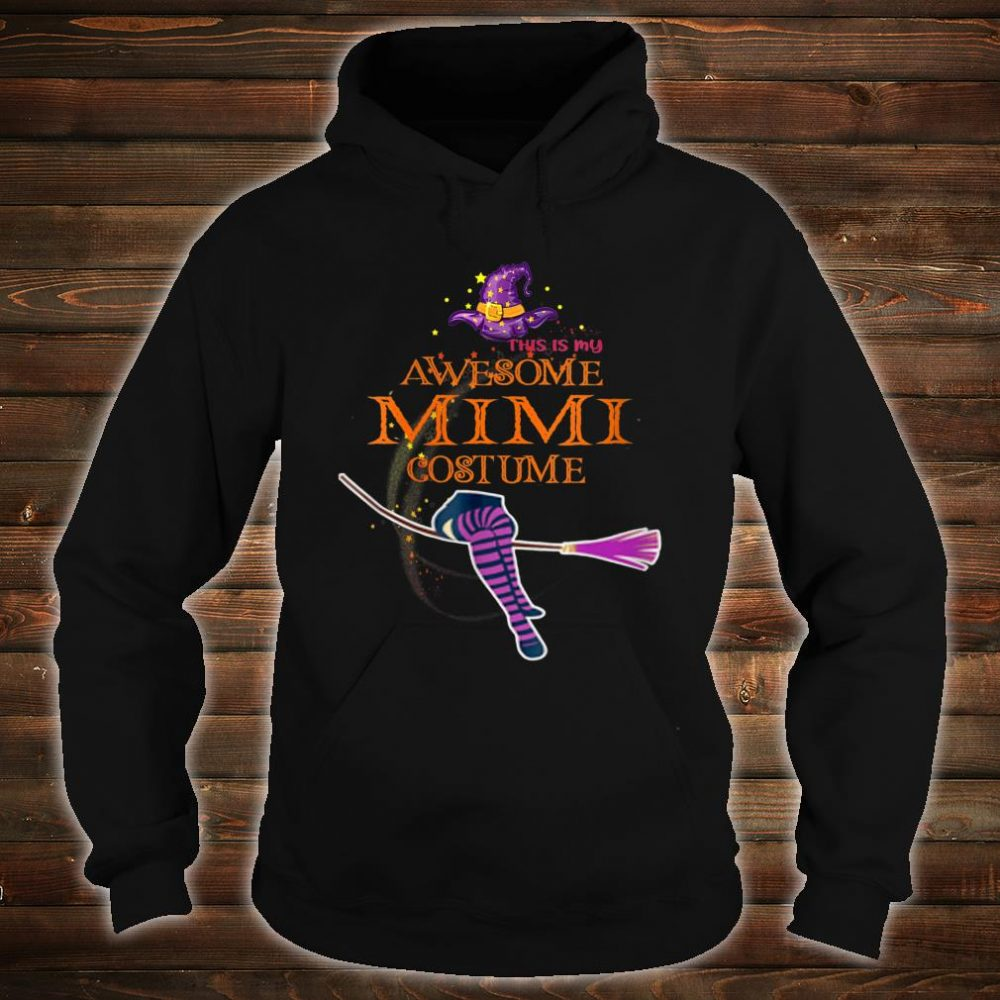 This Is My Awesome Mimi Costume Shirt hoodie