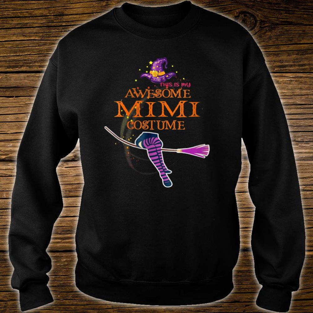 This Is My Awesome Mimi Costume Shirt sweater