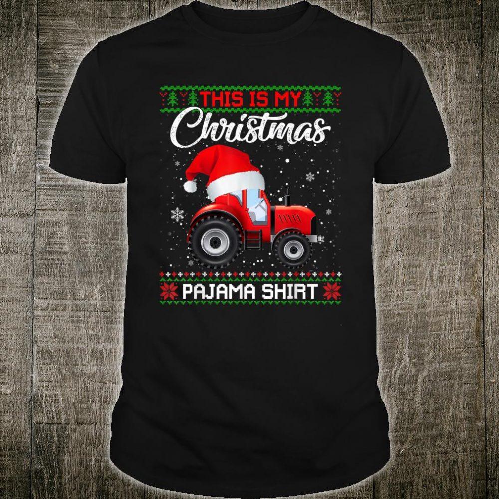 This Is My Christmas Pajama Sweater Shirt