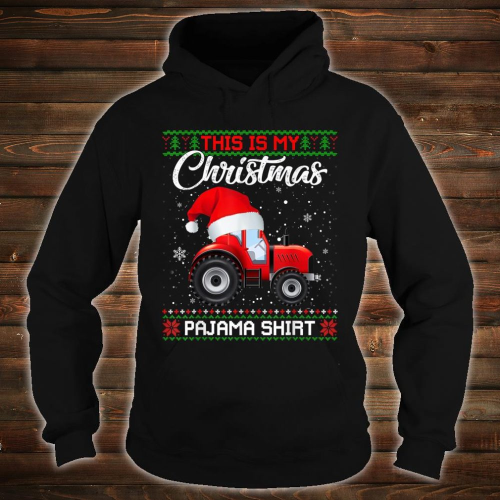 This Is My Christmas Pajama Sweater Shirt hoodie