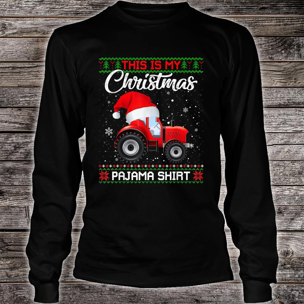 This Is My Christmas Pajama Sweater Shirt Long sleeved