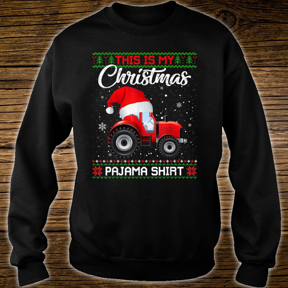 This Is My Christmas Pajama Sweater Shirt sweater