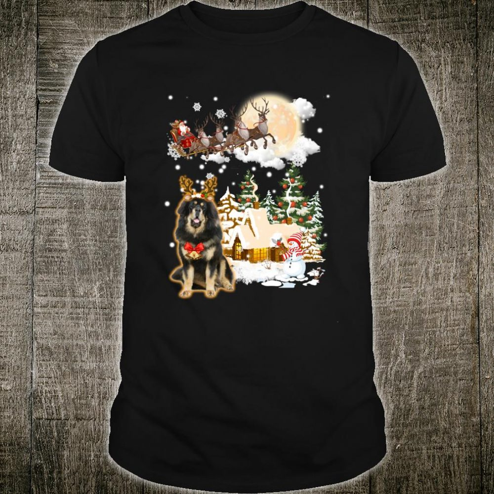 Tibetan Mastiff Comes To Town Shirt