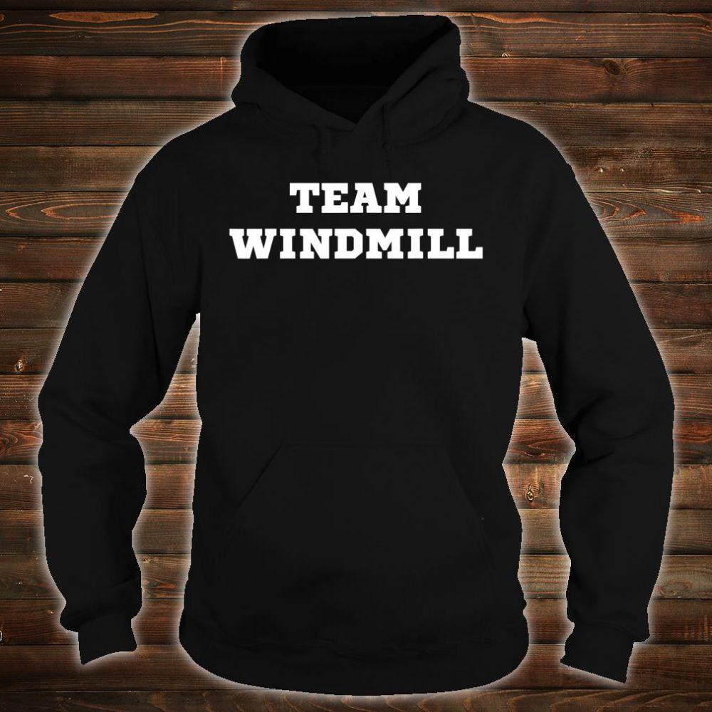 Trump Windmill Joke Shirt hoodie