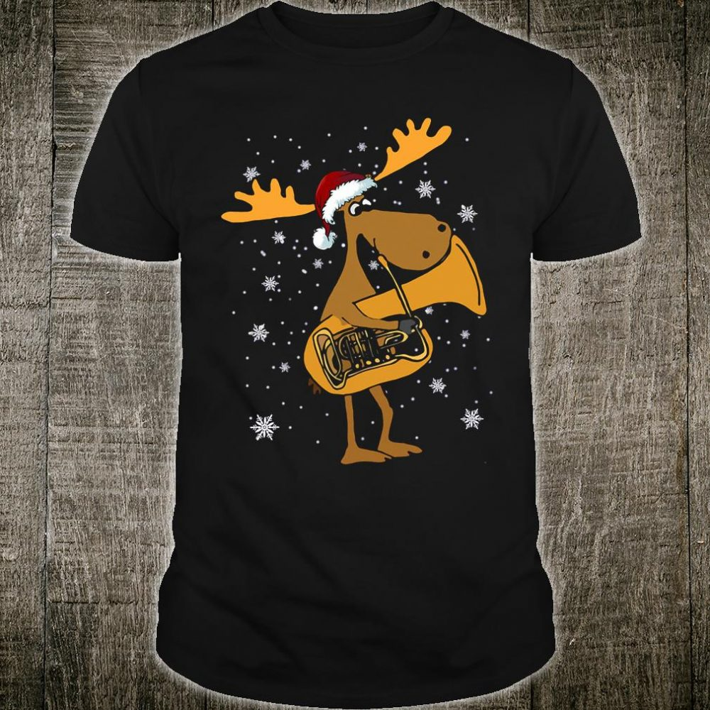 Tuba reindeer shirt