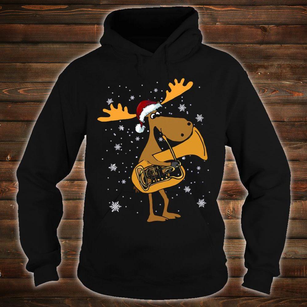 Tuba reindeer shirt hoodie
