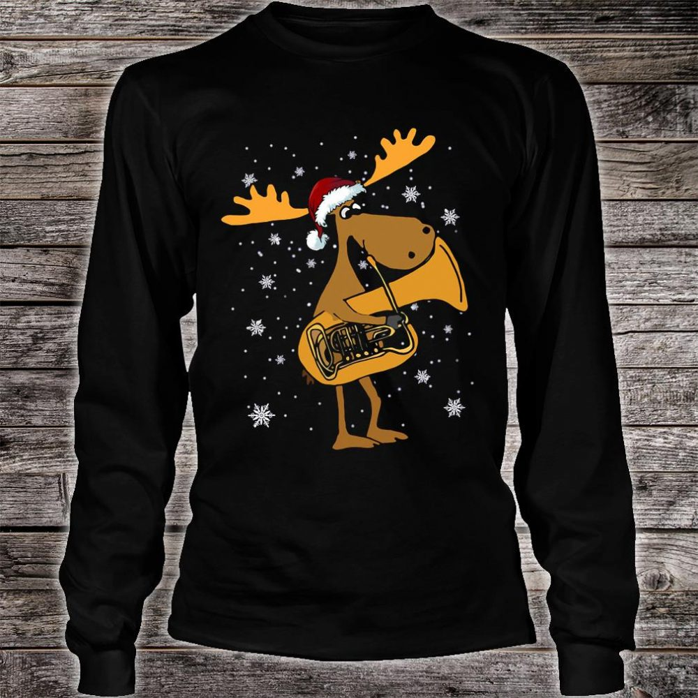 Tuba reindeer shirt long sleeved