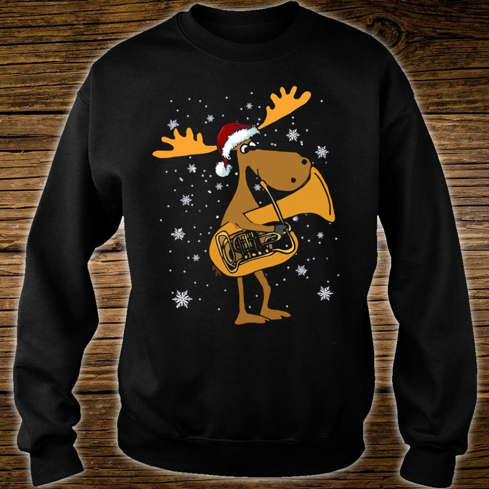 Tuba reindeer shirt sweater