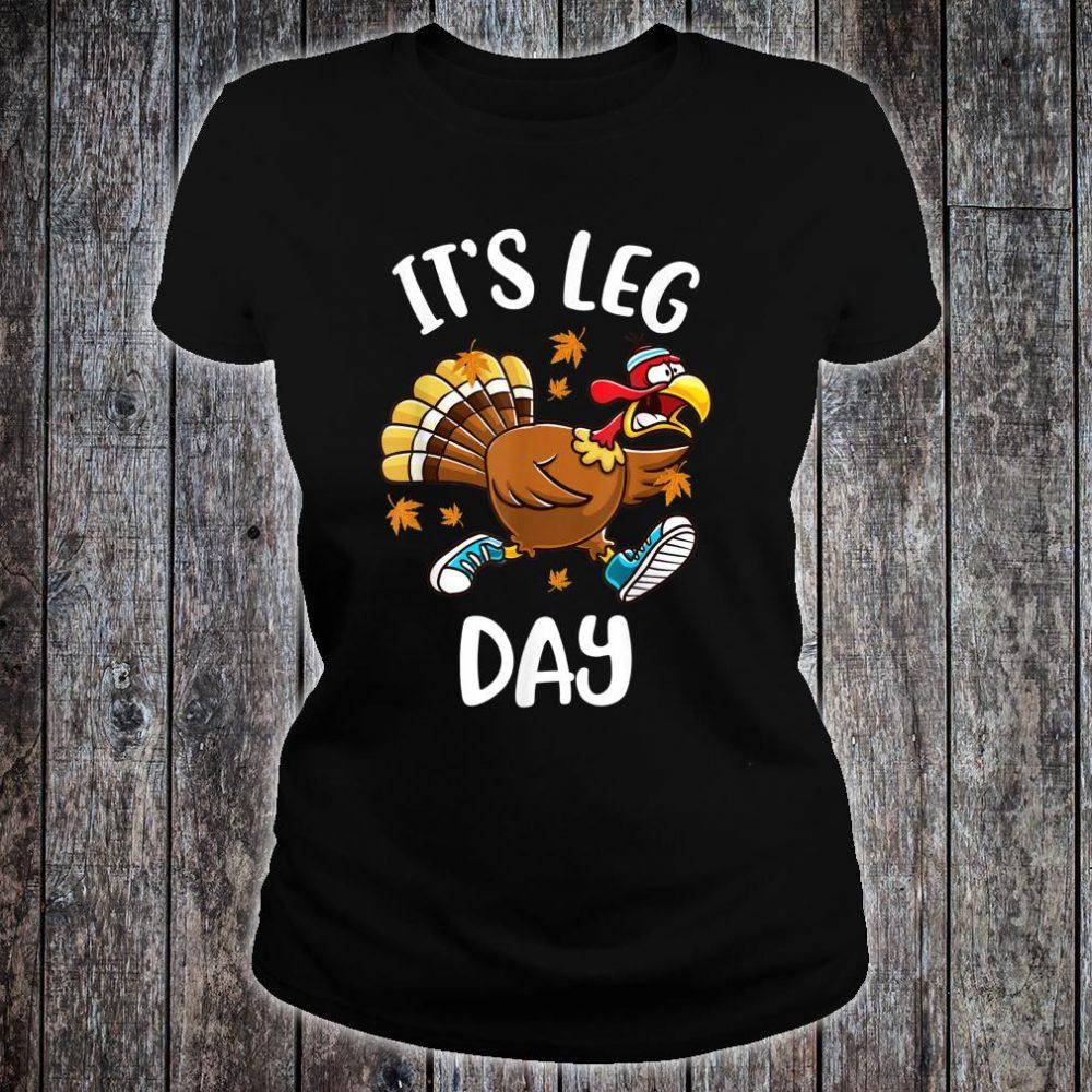 Turkey Exercise Workout Thanksgiving Shirt ladies tee