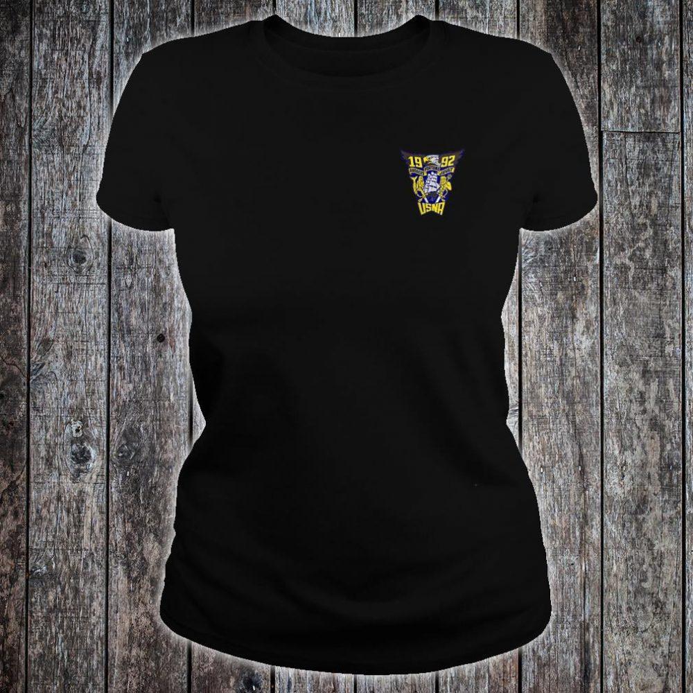 USNA Class of 1992 shirt ladies tee