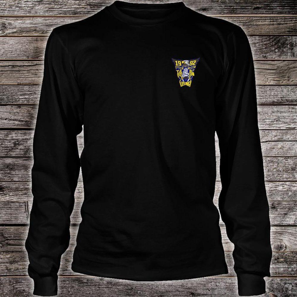 USNA Class of 1992 shirt long sleeved