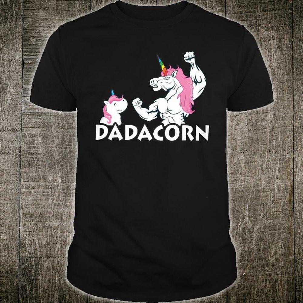 Unicorn Dadacorn shirt