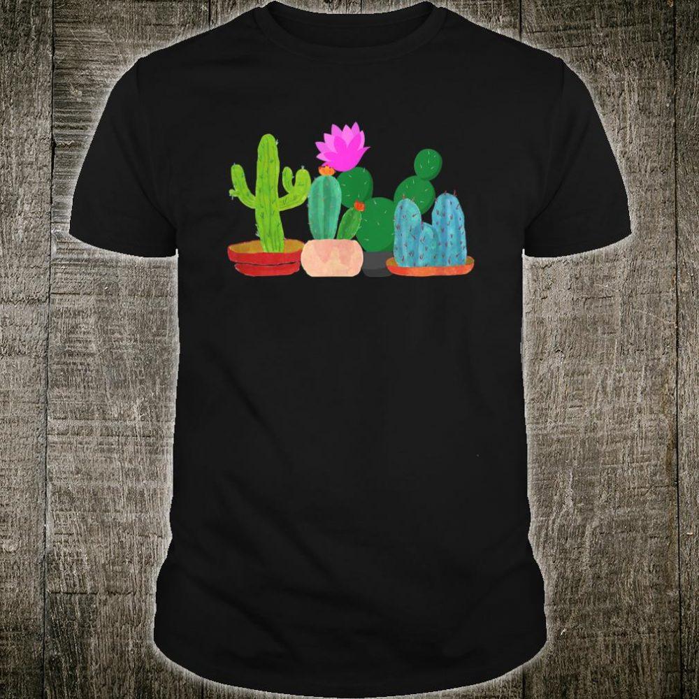 Unisex Cactus Summer Shirt