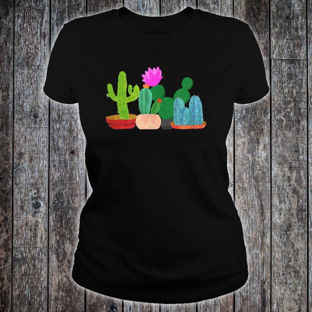 Unisex Cactus Summer Shirt ladies tee