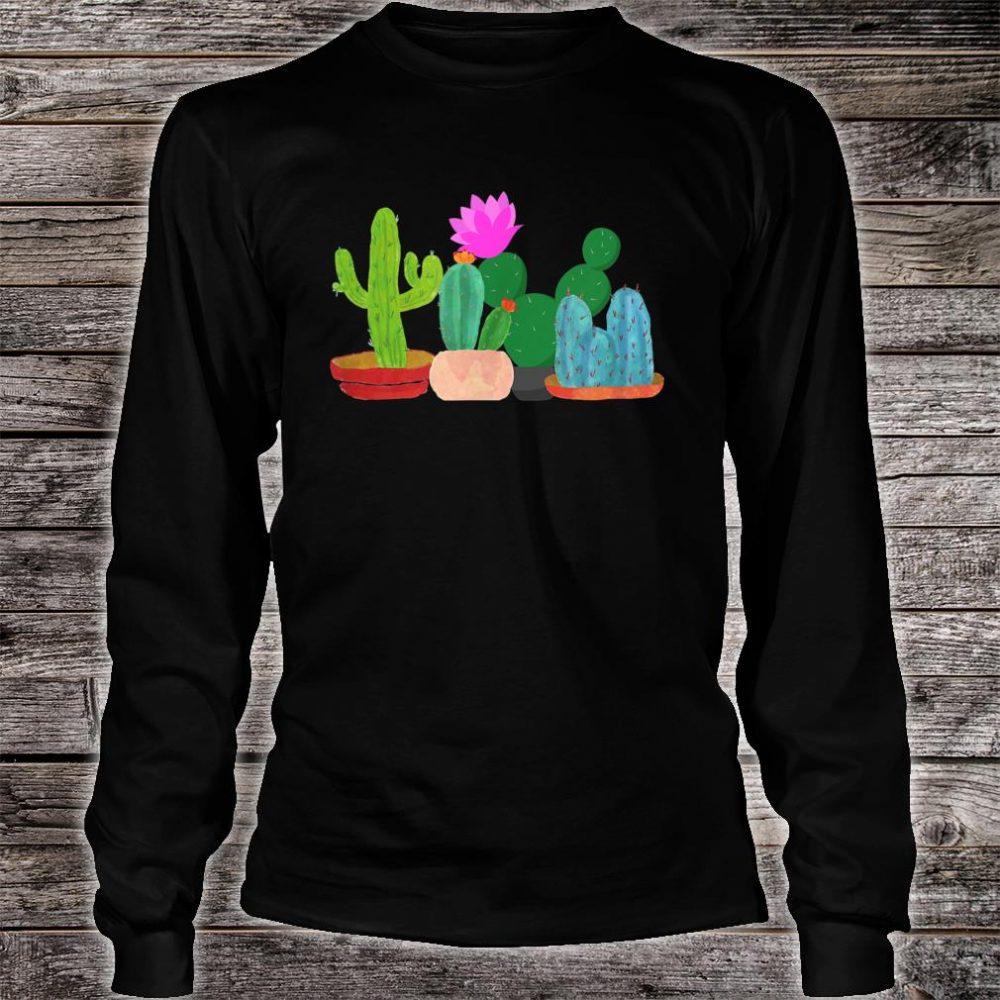 Unisex Cactus Summer Shirt long sleeved