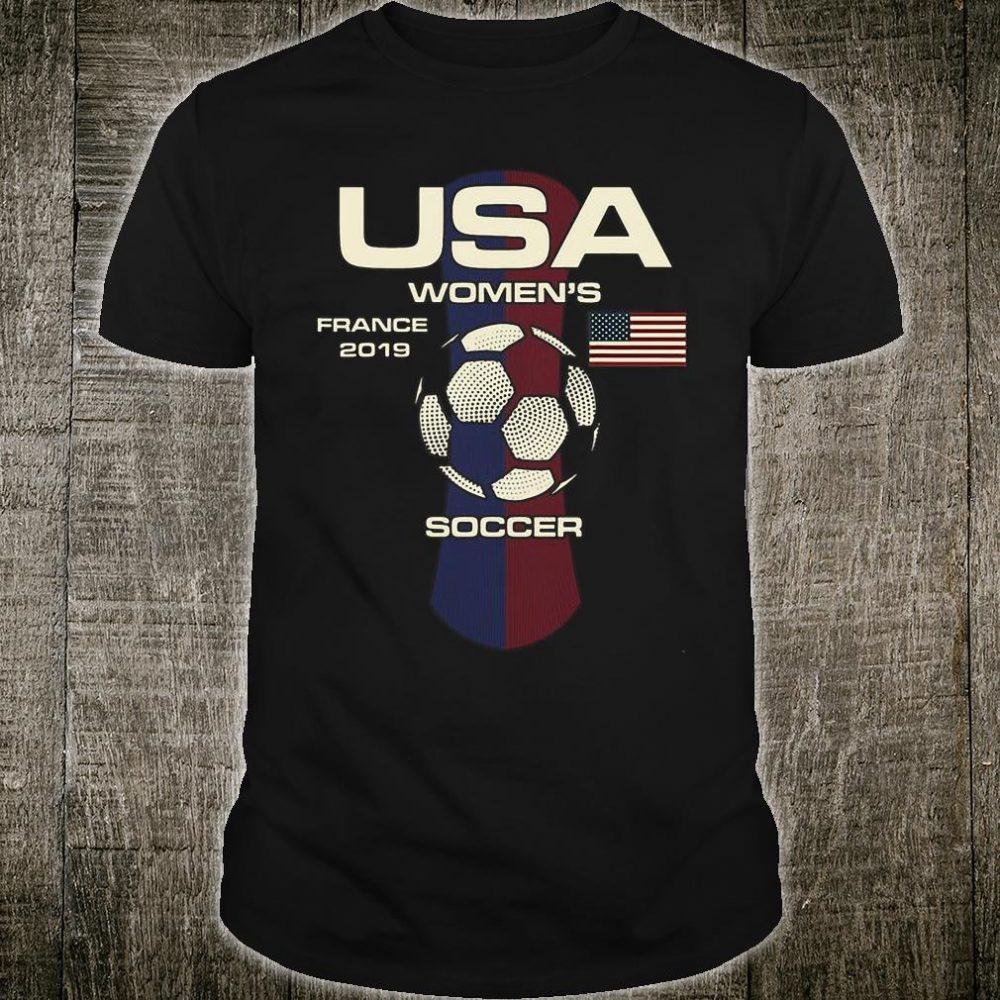 Usa womens france 2019 soccer shirt