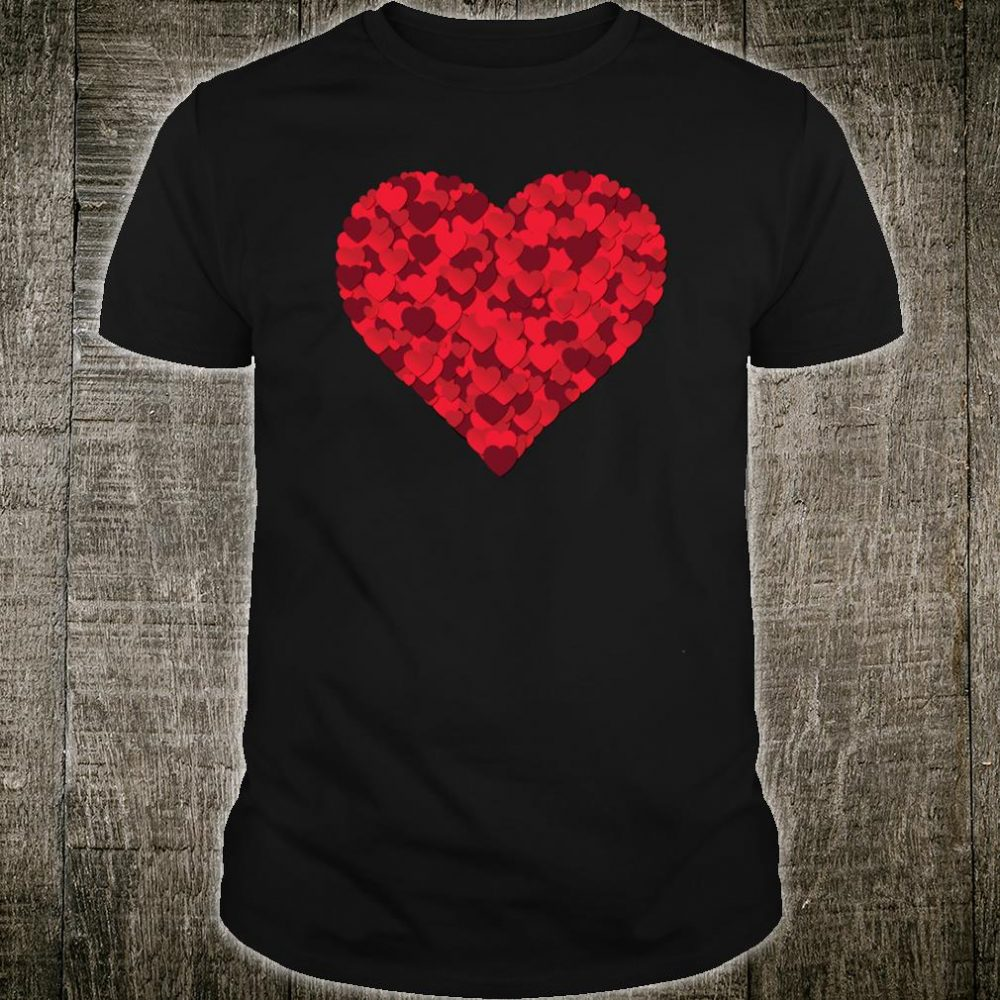 Valentine's Day Shirt Cute Red Hearts Shirt