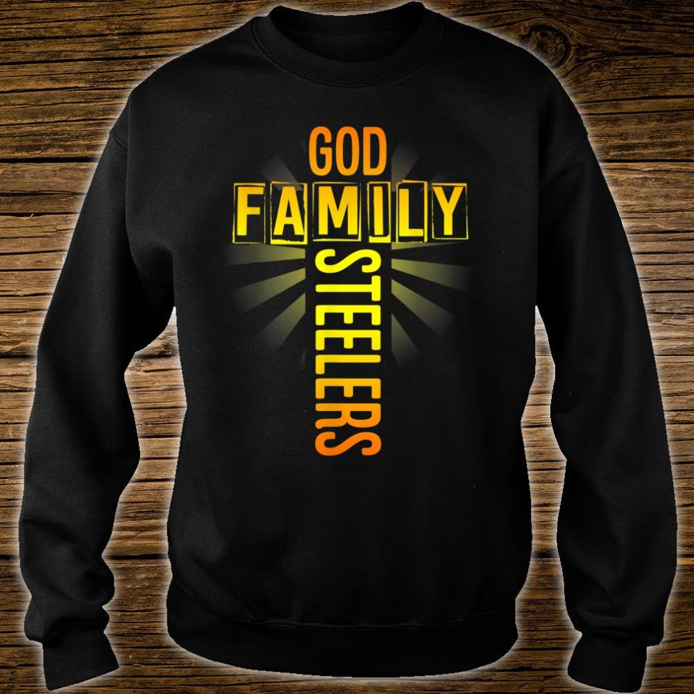 Valentine's Father's Day Gifts God Family Steelers Shirt sweater