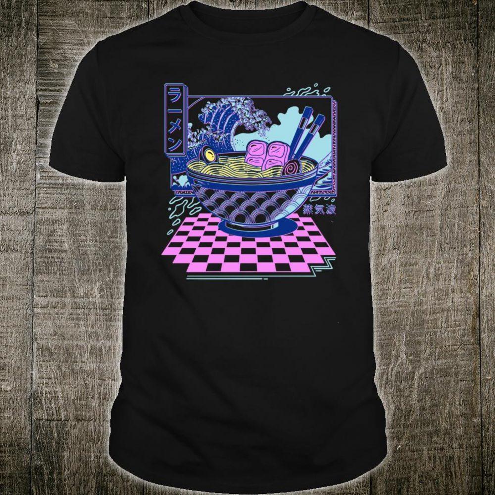 Vaporwave Ramen Shirt