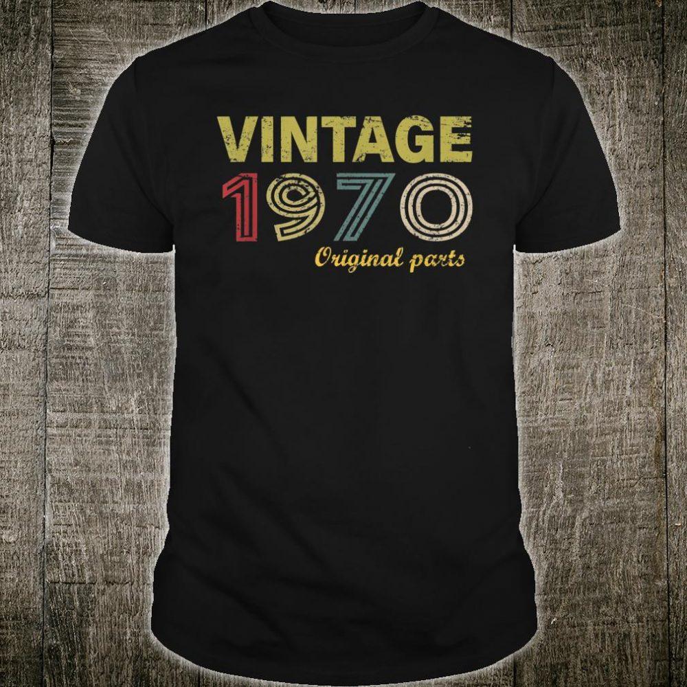 Vintage 1970 Original Parts Shirt