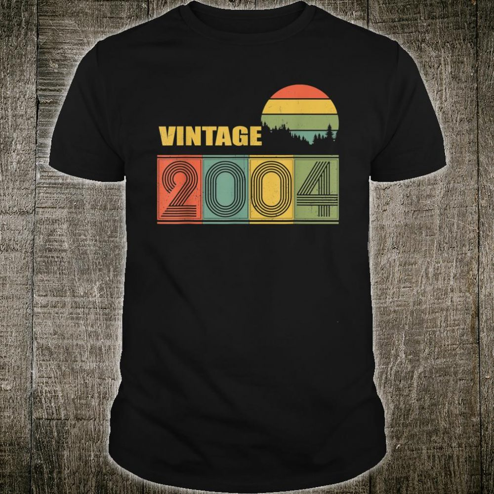 Vintage 2004 16 Years Old Bday Shirt