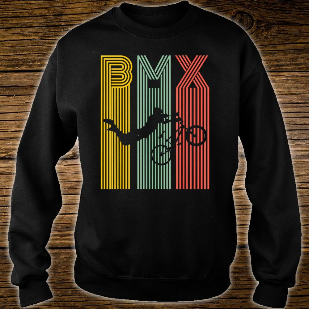 Vintage BMX Bike Bicycle Racing Stunt Shirt sweater