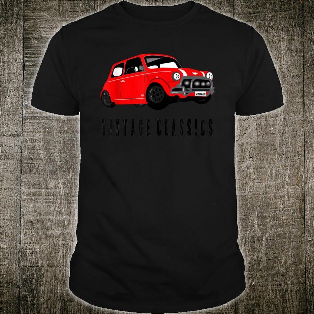 Vintage Classics Mini Car Shirt