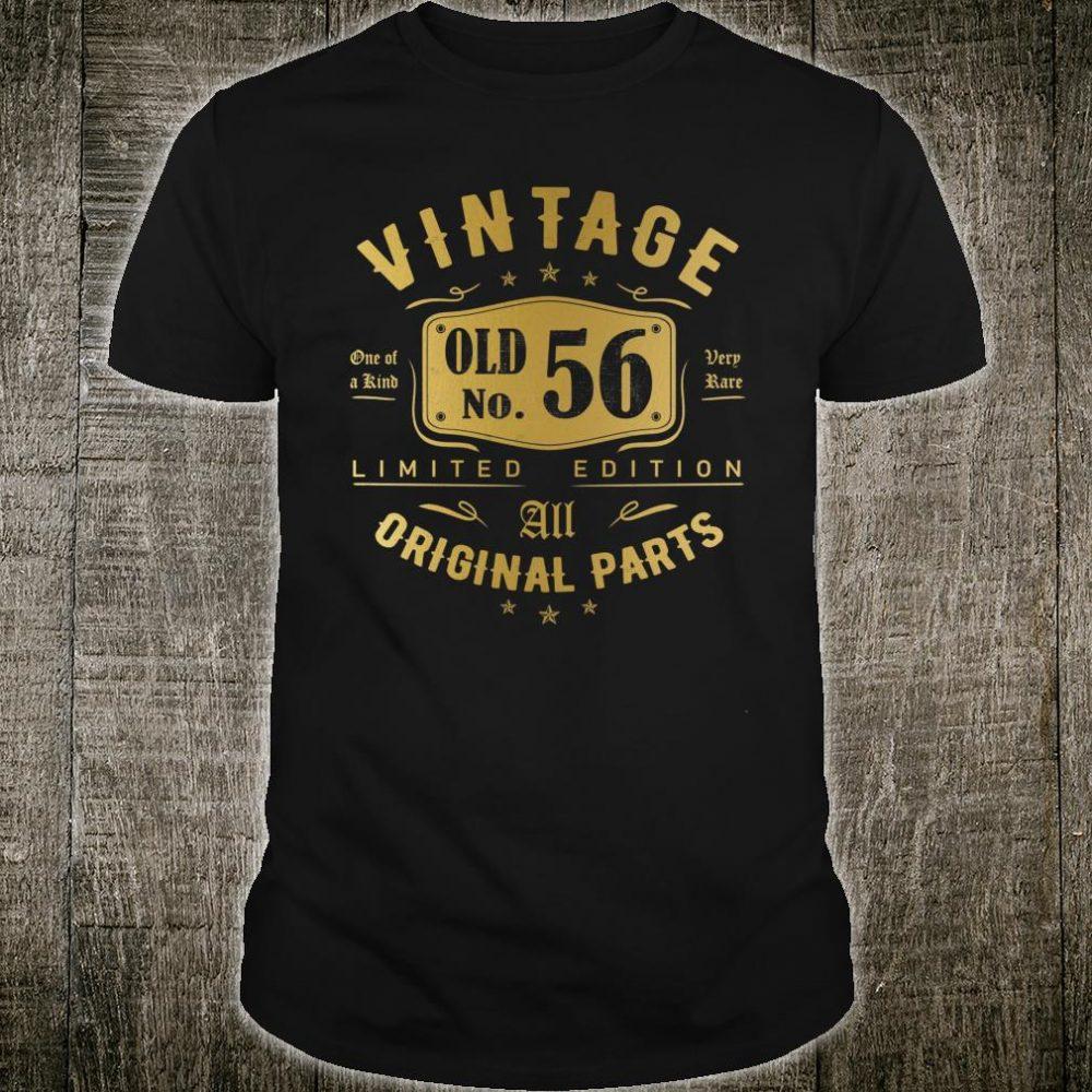 Vintage OLD 56 th 1964 Birthday Shirt