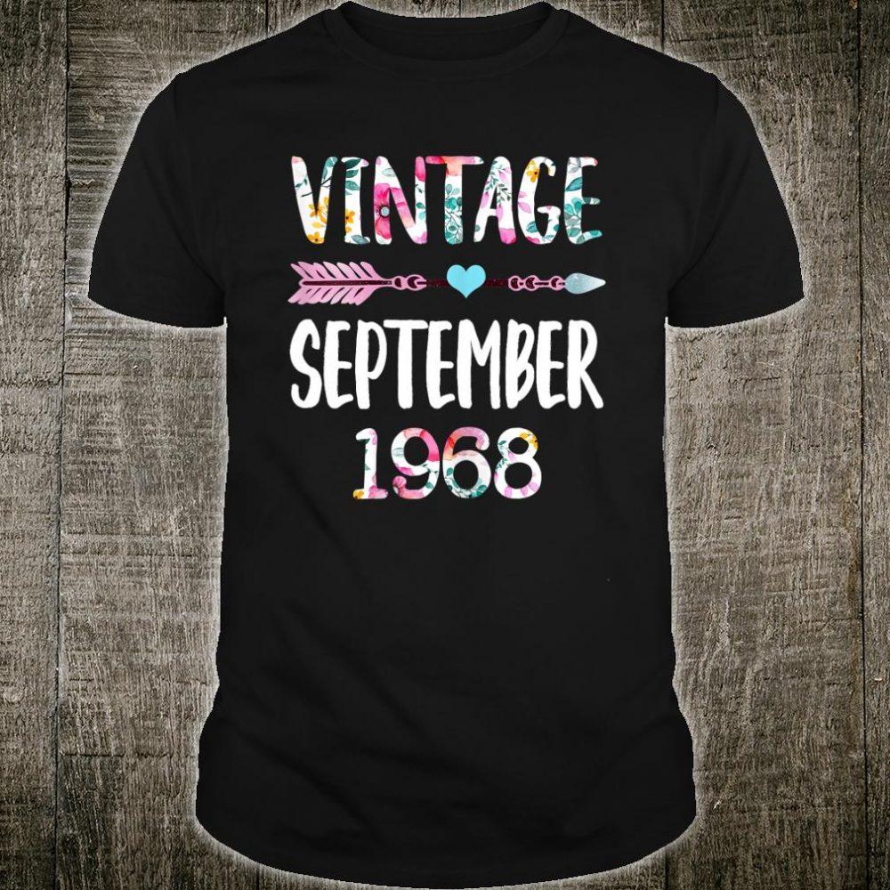 Vintage Since 1968 Shirt