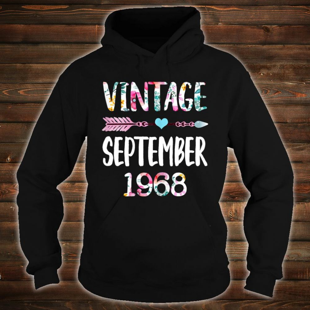 Vintage Since 1968 Shirt hoodie