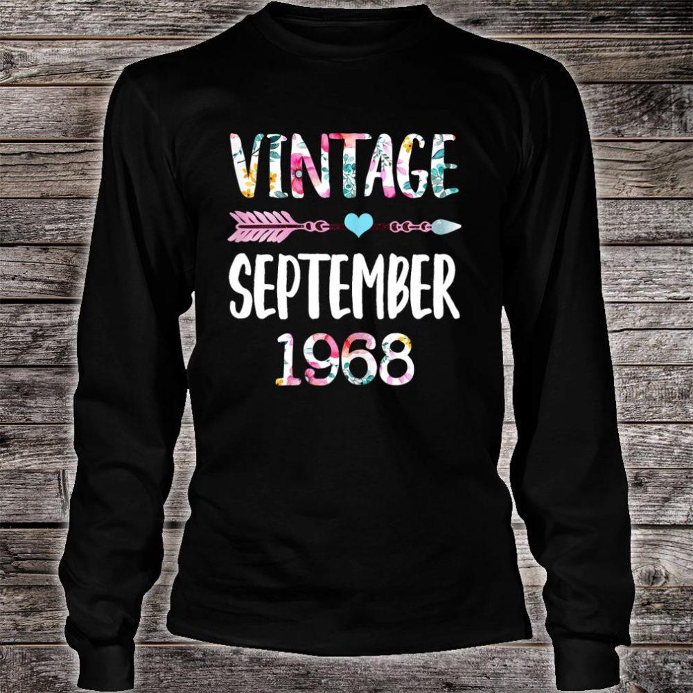 Vintage Since 1968 Shirt long sleeved