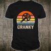 Vintage Sun funny Bicycle Cranky Shirt