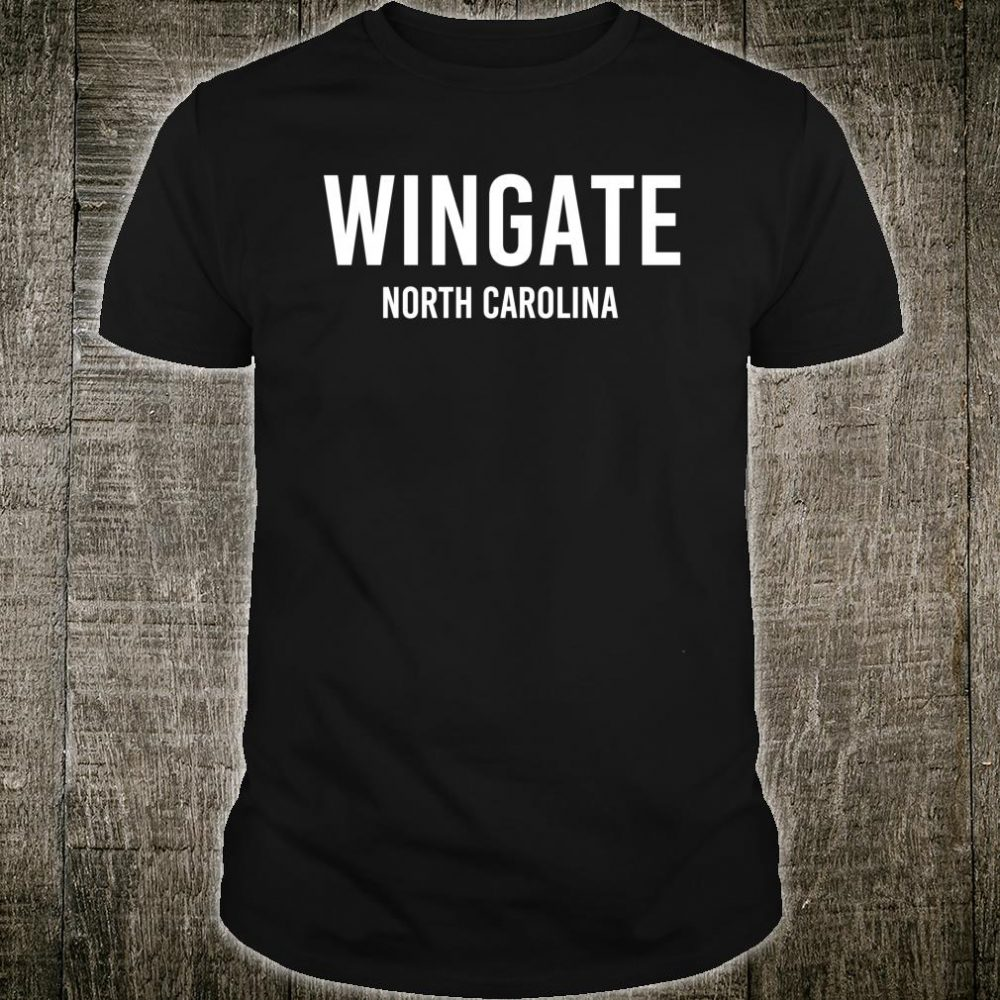 WINGATE NORTH CAROLINA NC USA Shirt