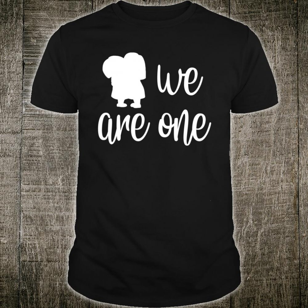 We Are One Graphic Inspire Tee Positive Message Shirt