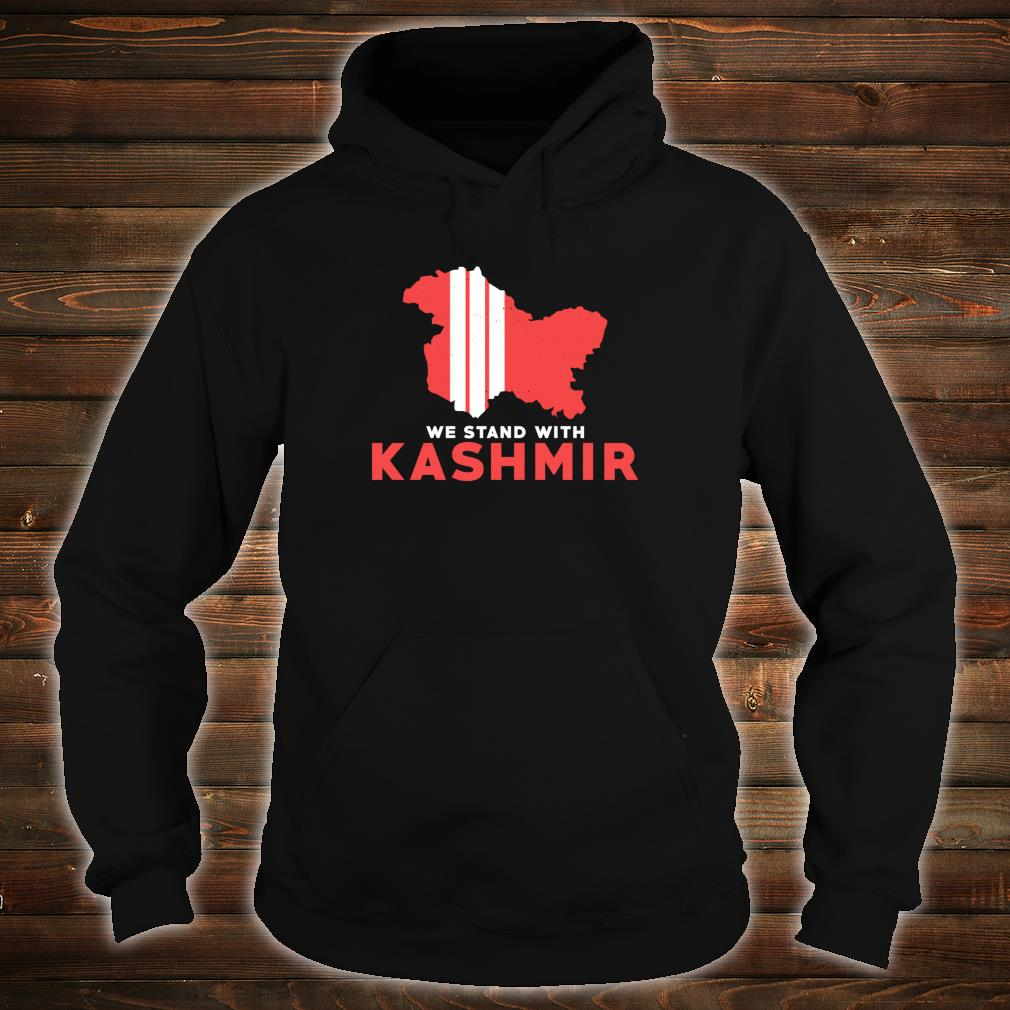 We Stand With Kashmir For Its Solidarity And Freedom Shirt hoodie