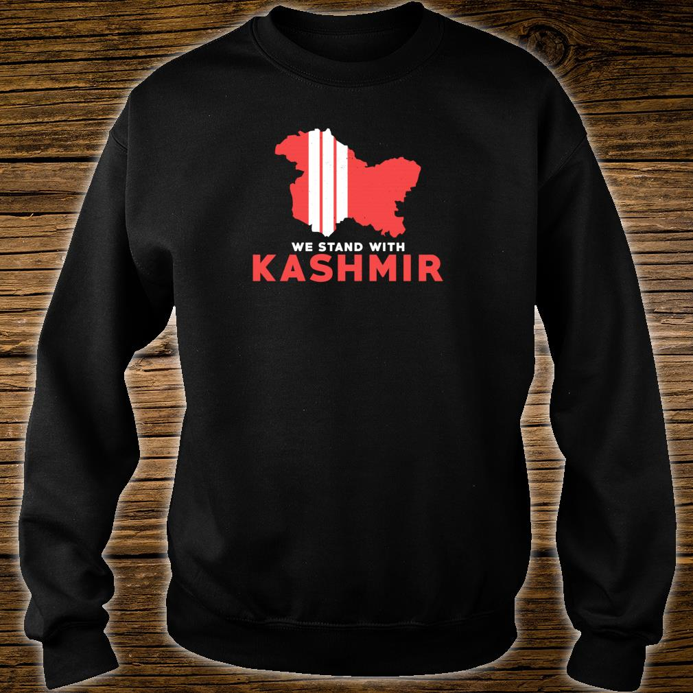 We Stand With Kashmir For Its Solidarity And Freedom Shirt sweater