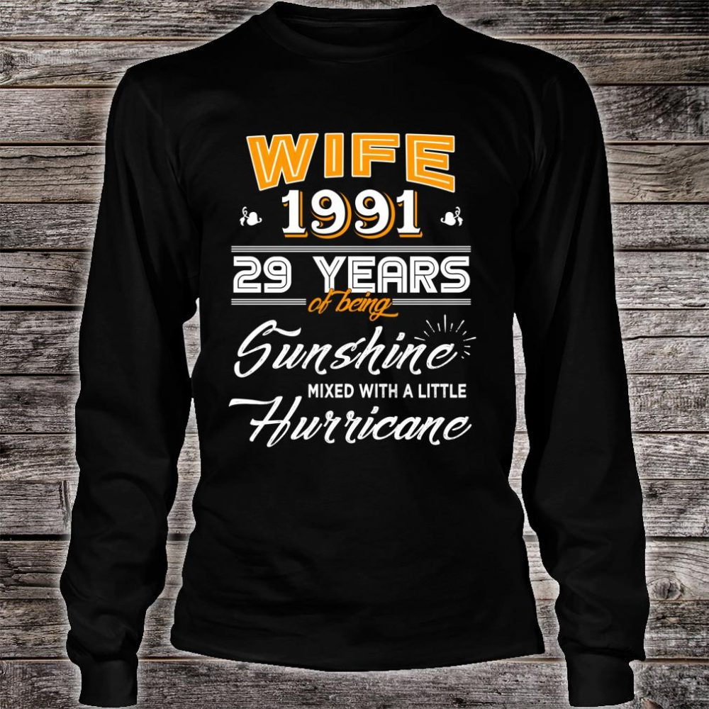 29 Year Wedding Anniversary Gift: Official Wife 1991 Gift, 29 Years Wedding Anniversary For