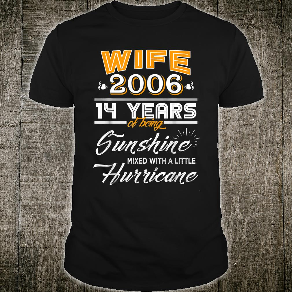 14 Year Wedding Anniversary Gift: Official Wife Since 2006 Gift, 14 Years Wedding