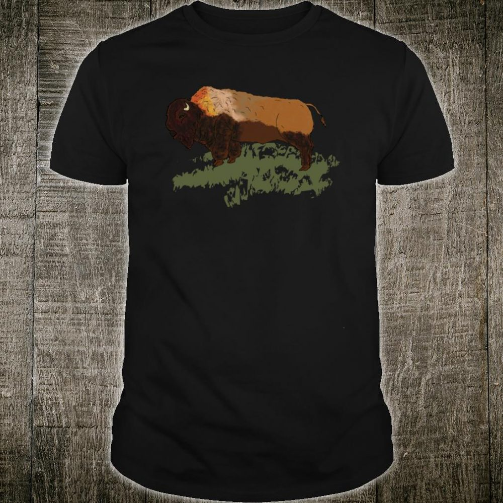 Wild Buffalo Bison Shirt