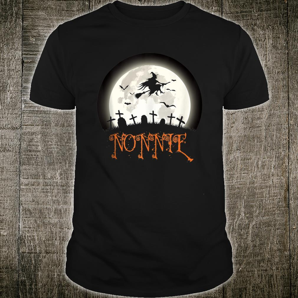 Witch Graveyard Nonnie Family Matching Halloween Costume Shirt