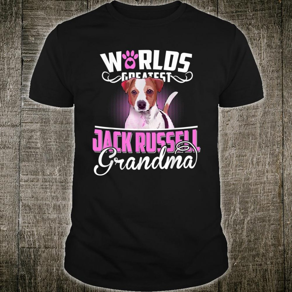 Worlds Greatest Jack Russell Grandma Shirt