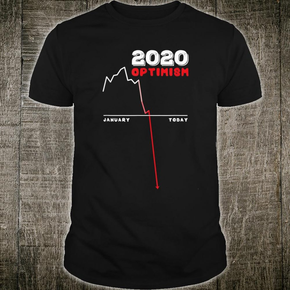 Year 2020 Optimism Line Chart Shirt
