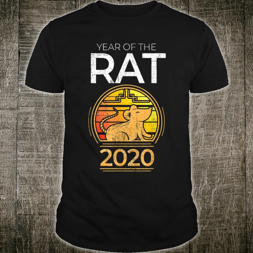 Year Of The Rat 2020 Chinese New Year Zodiac Symbol Shirt
