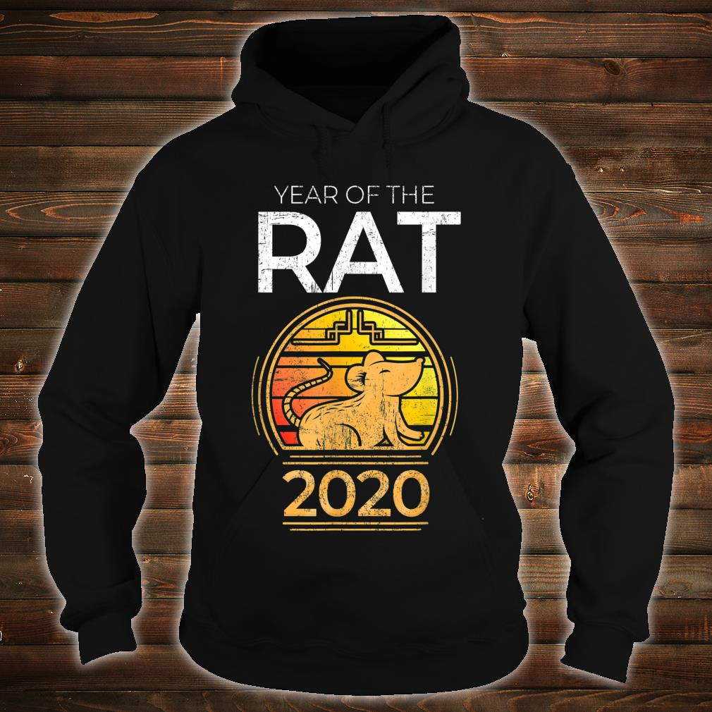Year Of The Rat 2020 Chinese New Year Zodiac Symbol Shirt hoodie