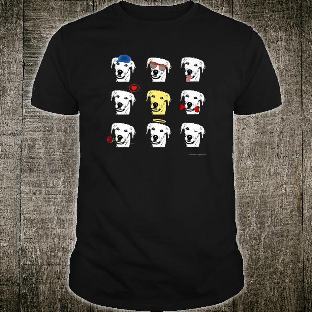 Yellow Labrador Retriever Dog! Shirt