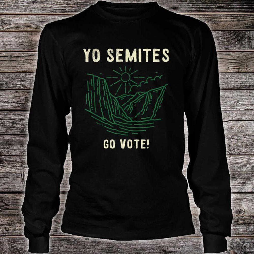 Yo Semite Trump Jewish Gift Shirt long sleeved