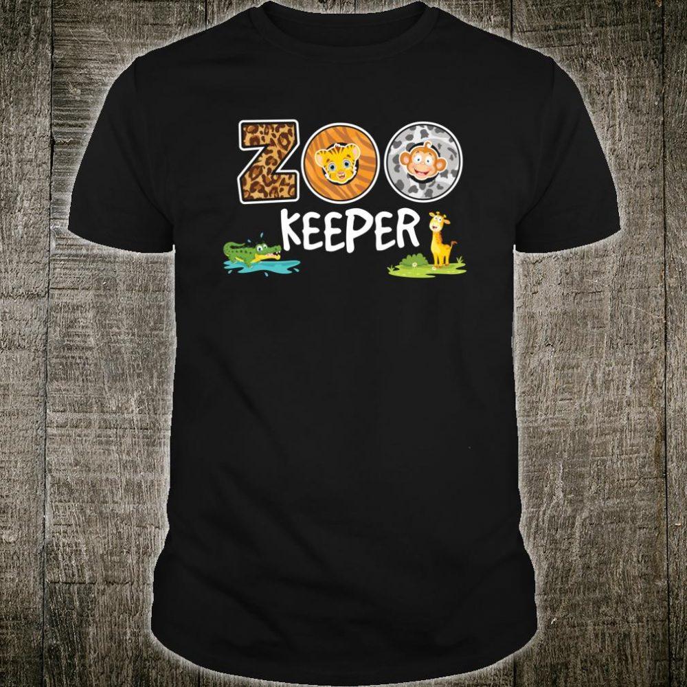 Zookeeper Animals Lover Shirt